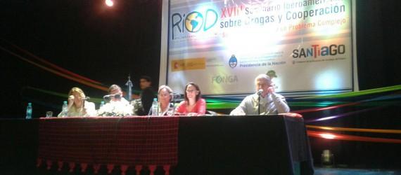 """Mariví Martín, ponente sobre Dependencia a las TIC,  interviene en el  XVIII Seminario Iberoamericano sobre Drogas y Cooperación: """"Soluciones Múltiples a un Problema Complejo"""""""